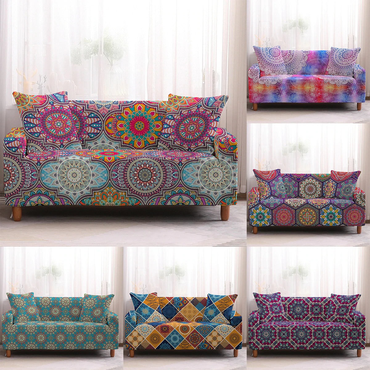 Bohemia Sofa Cover Collection
