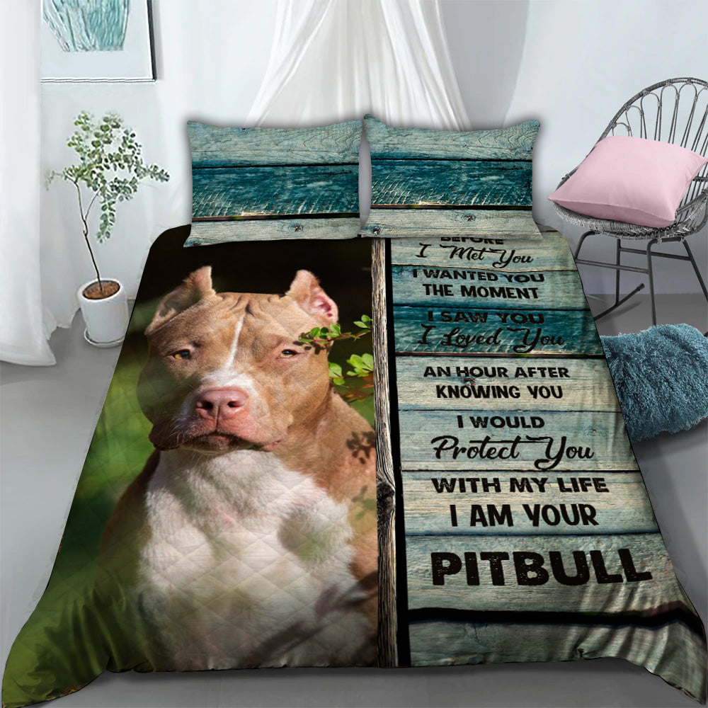Bedding Set - Pitbull lover