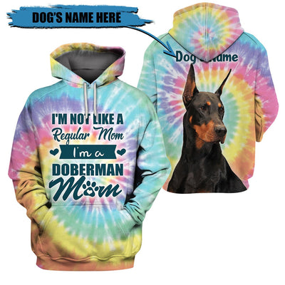 3D Customize Apparel - I am a Doberman Mom