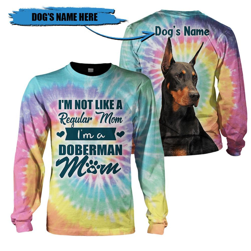3D Customize Apparel - I am a Doberman Mom - 4zOutfitters Merchandise