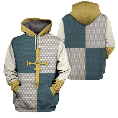 3D Knight Hoodie - Knight of Agatha
