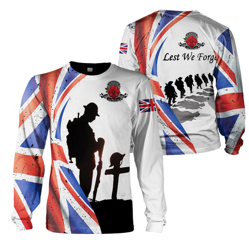 Veterans Clothing - Lest We Forget