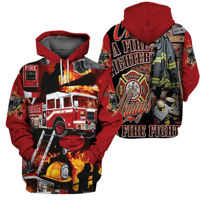 3d apparel - U.S Firefighter
