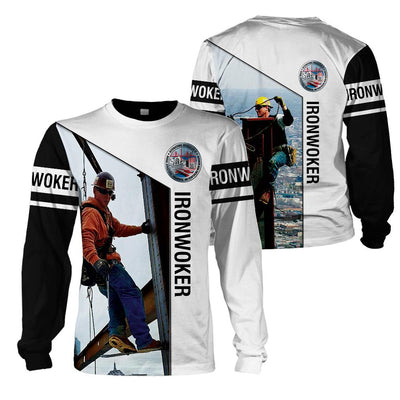 3d apparel - U.S Ironworkers - 4zOutfitters Merchandise