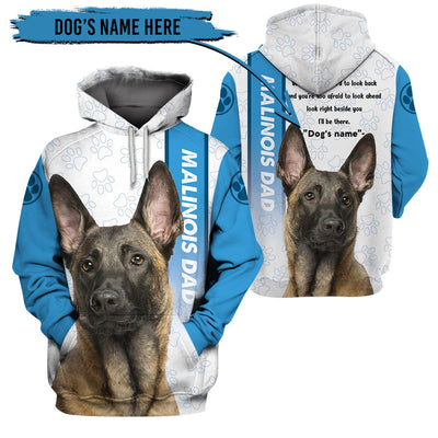 3d apparel - Life is better with a dog -  Malinois - 4zOutfitters Merchandise
