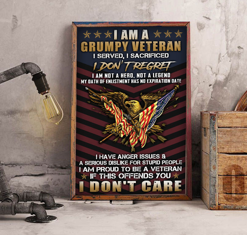 3D Canvas - Proud to be a veteran