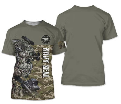 U.S Navy Seal Apparel - All Over 3D Printed Clothing - GnWarriors Clothing