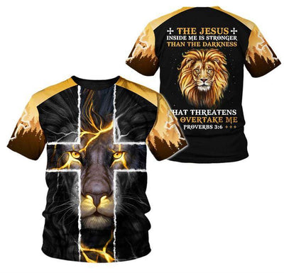 Trending 3D Christian Clothing - The Jesus Inside Me Limited Edition - GnWarriors Clothing
