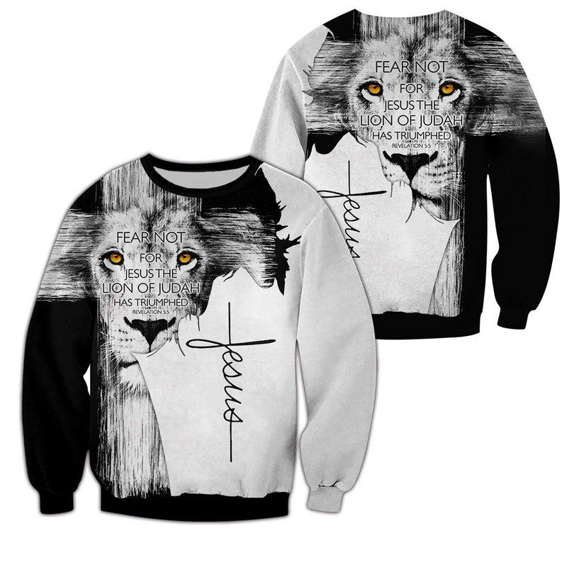 Trending 3D Christian Clothing - Lion Of Judah - GnWarriors Clothing