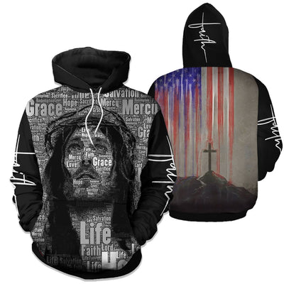 Trending 3D Christian Clothing - Jesus Limited Edition - GnWarriors Clothing