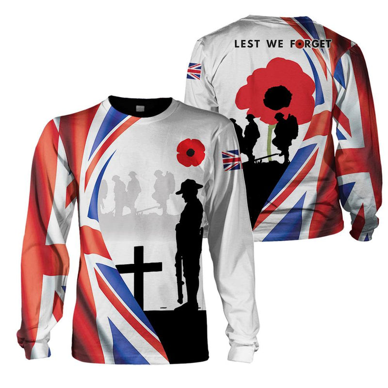 3D Apparel - Veteran Clothing - Lest We Forget - 4zOutfitters Merchandise