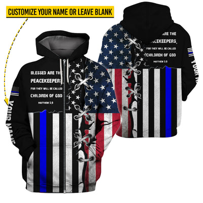 Limited Edition Thin Blue Line - GnWarriors Clothing