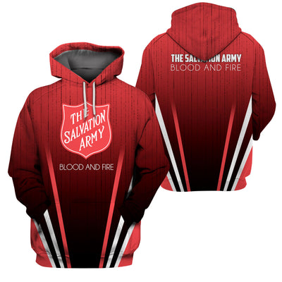 The Salvation Army 3D Print Full - GnWarriors Clothing