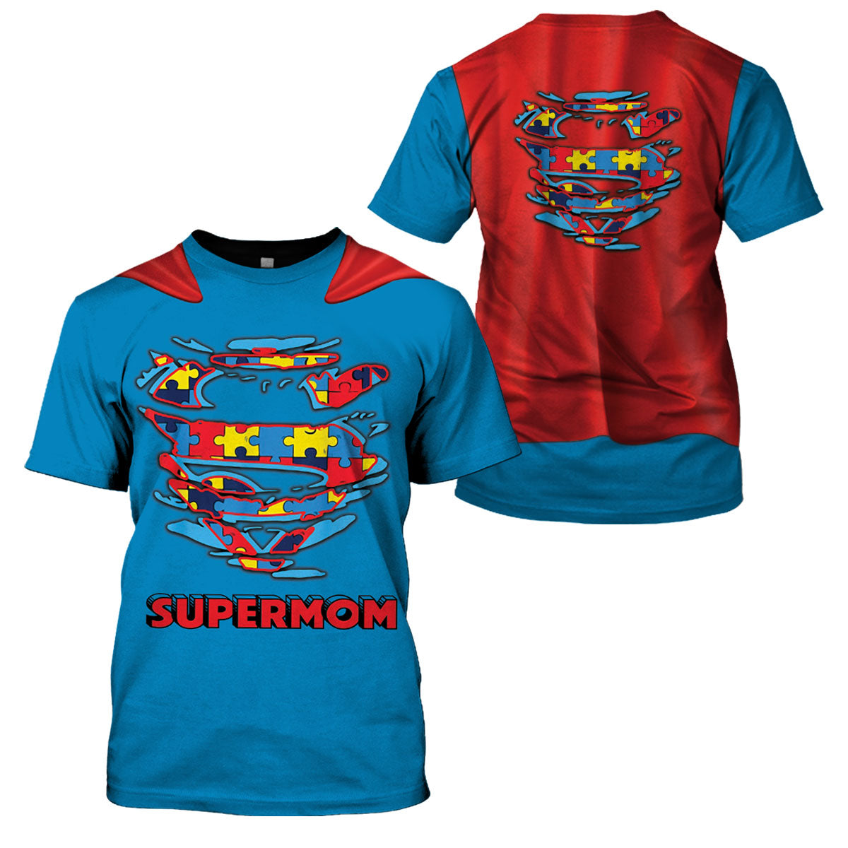 Supermom Autism Awareness 2020 - GnWarriors Clothing