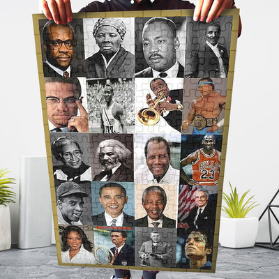 Black Historical Figures Jigsaw Puzzle - GnWarriors Clothing