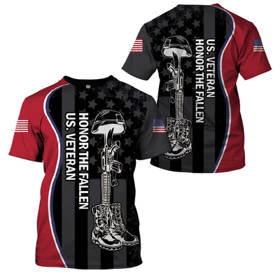 U.S Veteran Honor The Fallen - GnWarriors Clothing