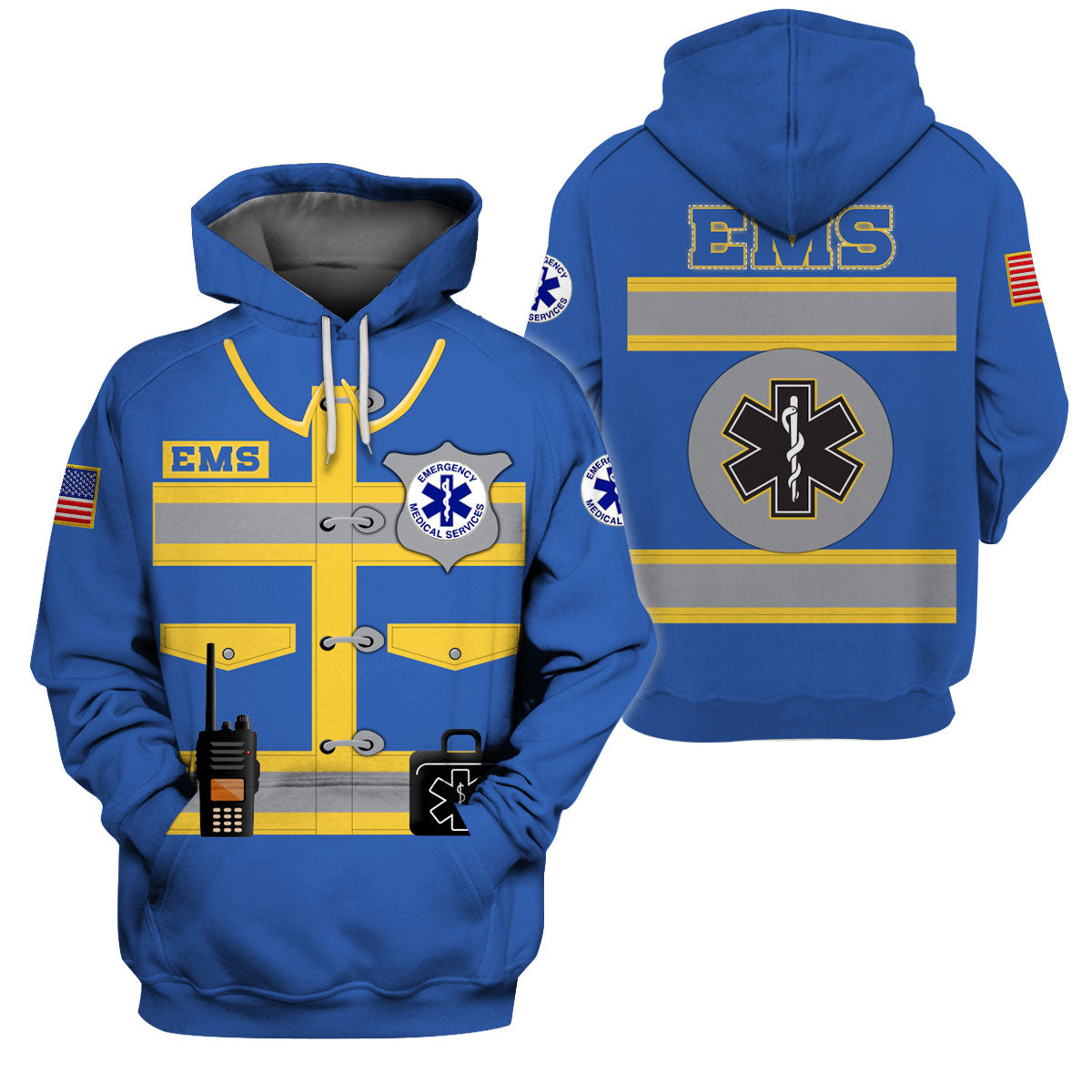 EMS JERSEY 3D ALL OVER PRINTED SHIRTS FOR MEN AND WOMEN - GnWarriors Clothing