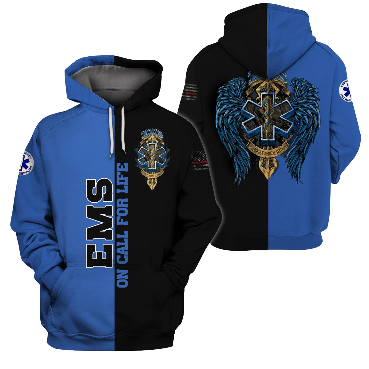 EMS APPAREL 3D ALL OVER PRINTED SHIRTS FOR MEN AND WOMEN - GnWarriors Clothing