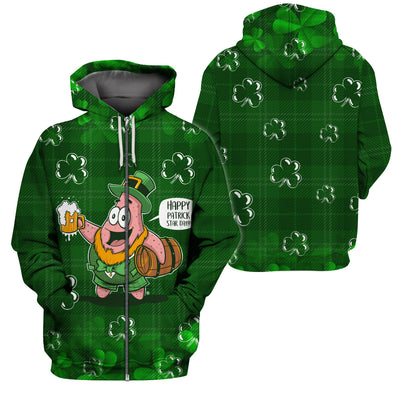 Happy St.Patrick's Day Hoodies Tshirt Apparel - GnWarriors Clothing