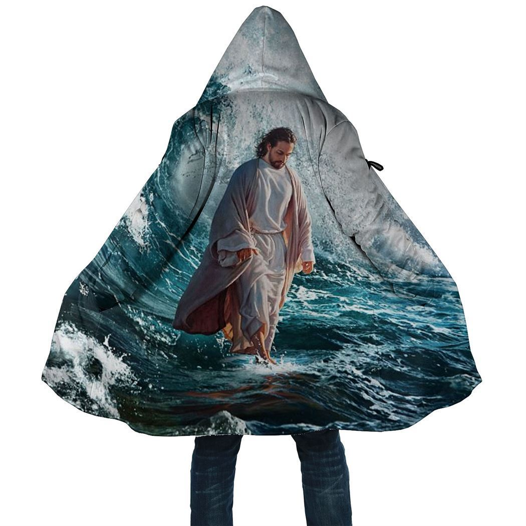 Amazing 3D Printed Cloak - Jesus Cloak - GnWarriors Clothing