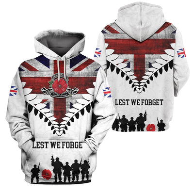 3D Apparel - Veterans Clothing - Lest We Forget