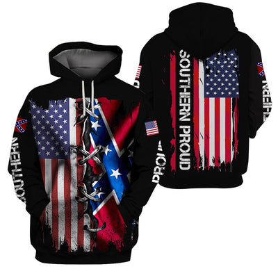 3d America Apparel - Southern Proud