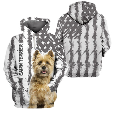 Limited Edition 3d apparel - US Flag dog 11