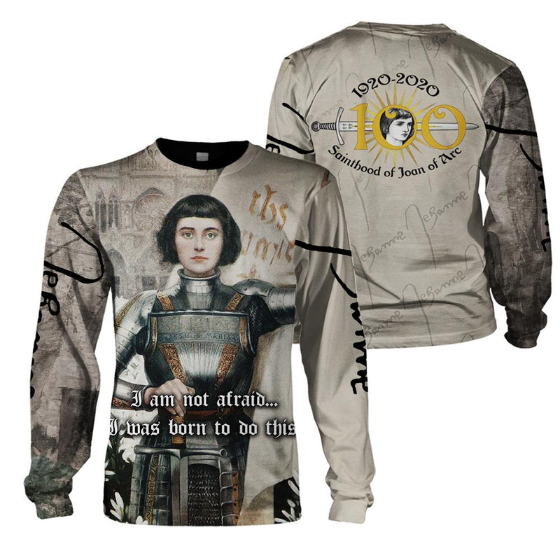 3d Christian Apparel - Joan Of Arc - GnWarriors Clothing