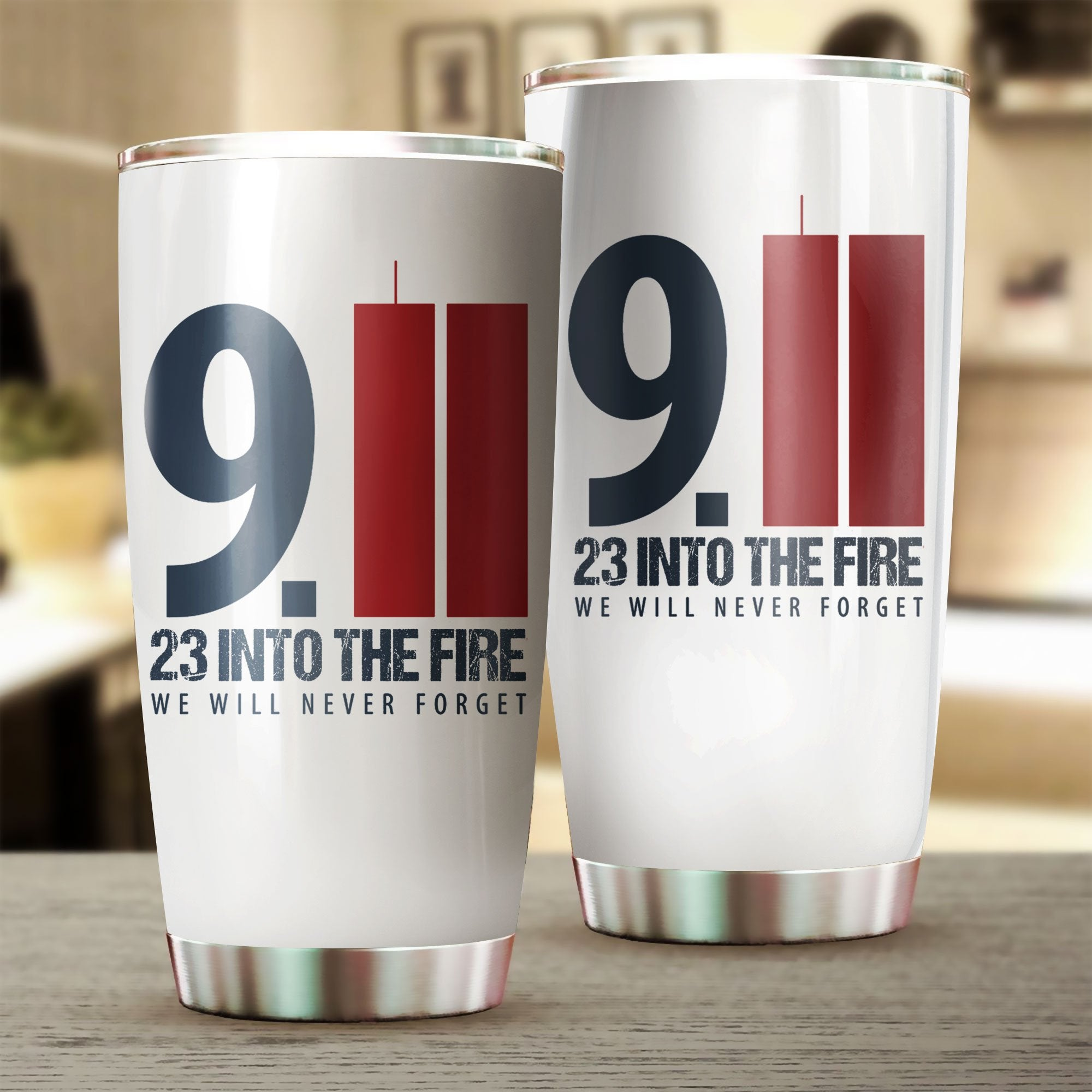 9/11 Firefighter Tribute Tumbler - 4zOutfitters Merchandise
