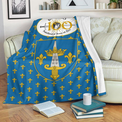 Blanket - Sainthood Of Joan Of Arc - GnWarriors Clothing