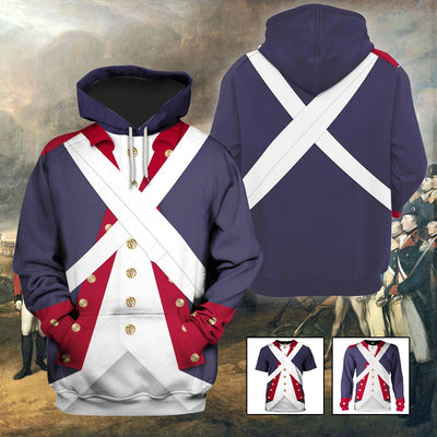 3D 1776 Costume - Sons of Liberty - Continental Army