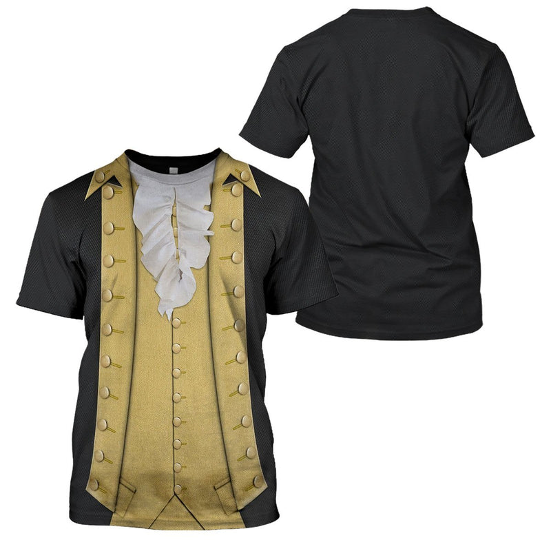 3D 1776 Costume - Sons of Liberty - George Washington - 4zOutfitters Merchandise