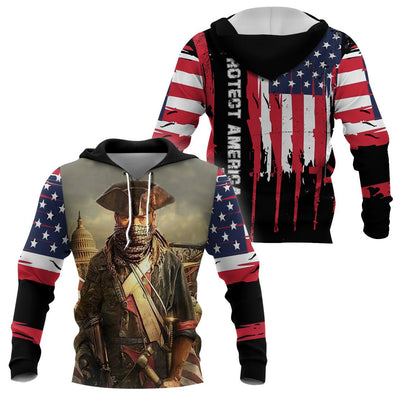 3D America Apparels - Son of Liberty - Modern Minute man