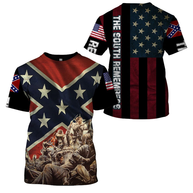 3d America Apparel - The South Remembers