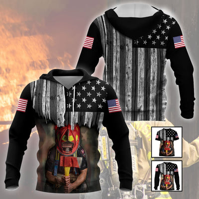 3D Firefighter Apparels - USA Firefighter - 4zOutfitters Merchandise