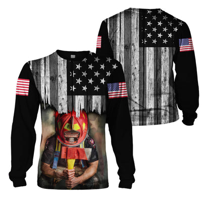 3D Firefighter Apparels - USA Firefighter
