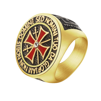 Knight Premium Cross Ring - GnWarriors Clothing