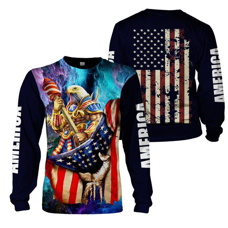 3d America Apparel - Eagle Warrior 2 - 4zOutfitters Merchandise