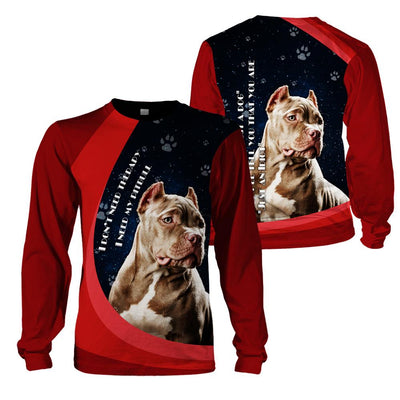 3d apparel - I don't need therapy, I need my Pitbull - 4zOutfitters Merchandise