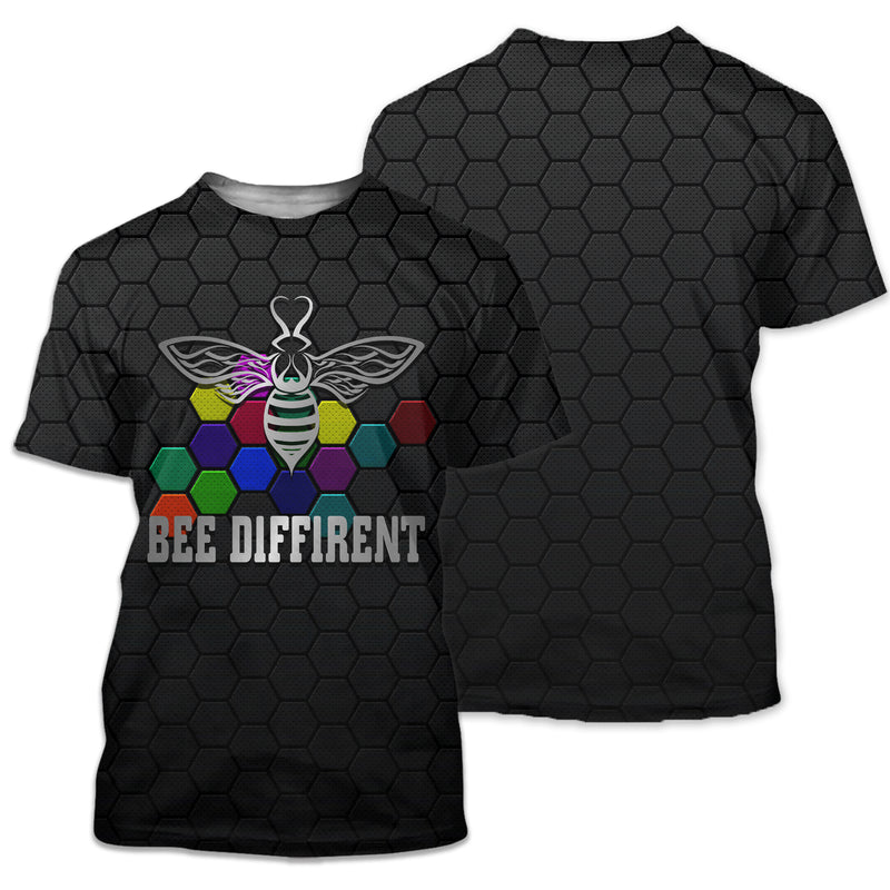 Bee Diffirent - Autism Awareness 2020 - GnWarriors Clothing