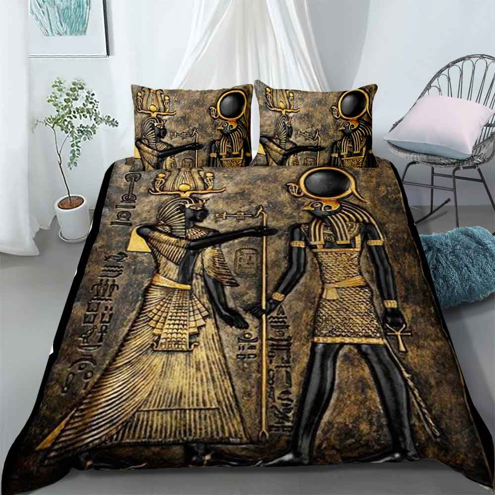 Bedding Set - Ancient Egypt Gods Of Egypt