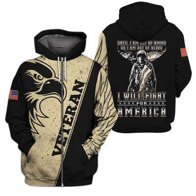 I Will Fight For America - GnWarriors Clothing