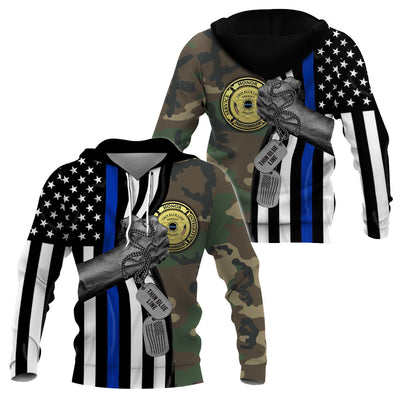 The Thin Blue Line - GnWarriors Clothing
