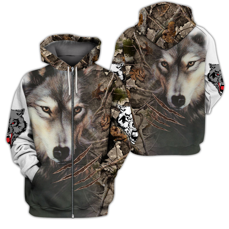 Best Gift For Wolf Lover - GnWarriors Clothing