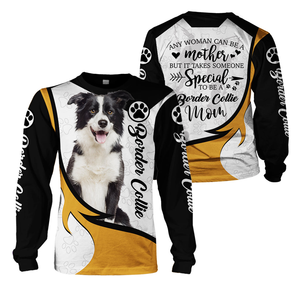 3D Dog Apparel - Border Collie Mom