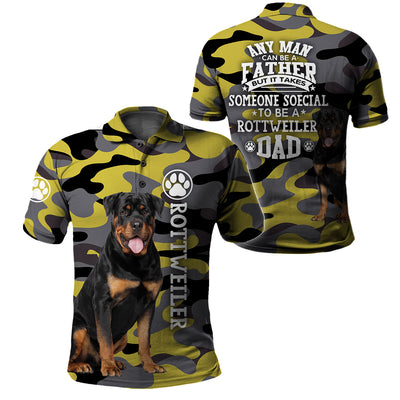 3d Apparel - Rottweiler Dad