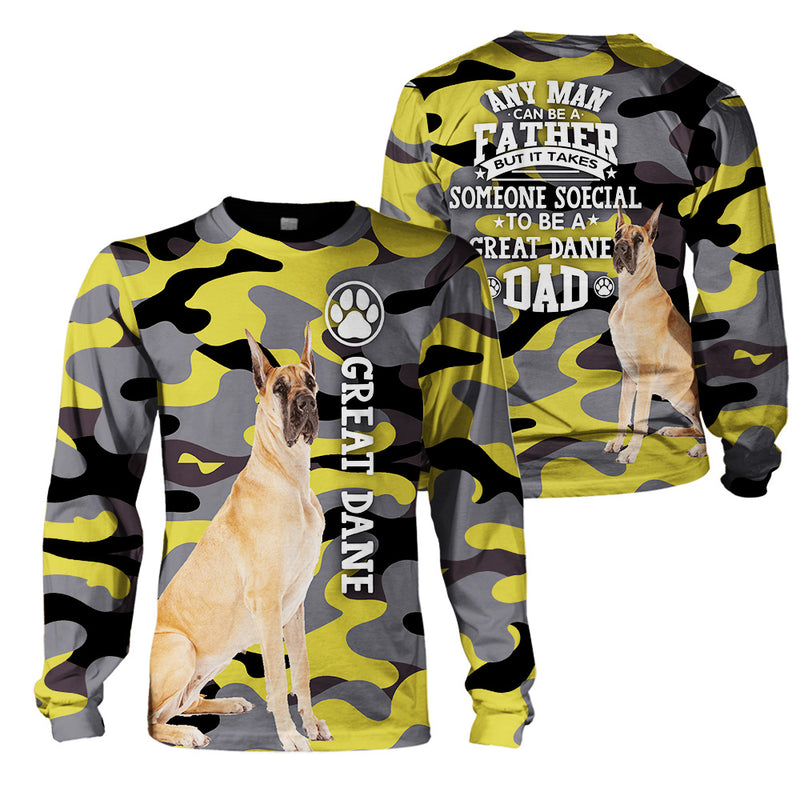 3d Apparel - Great Dane Dad