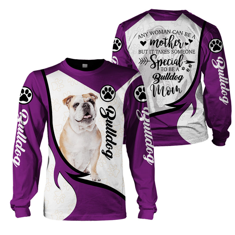 3d Apparel- Bulldog Mom