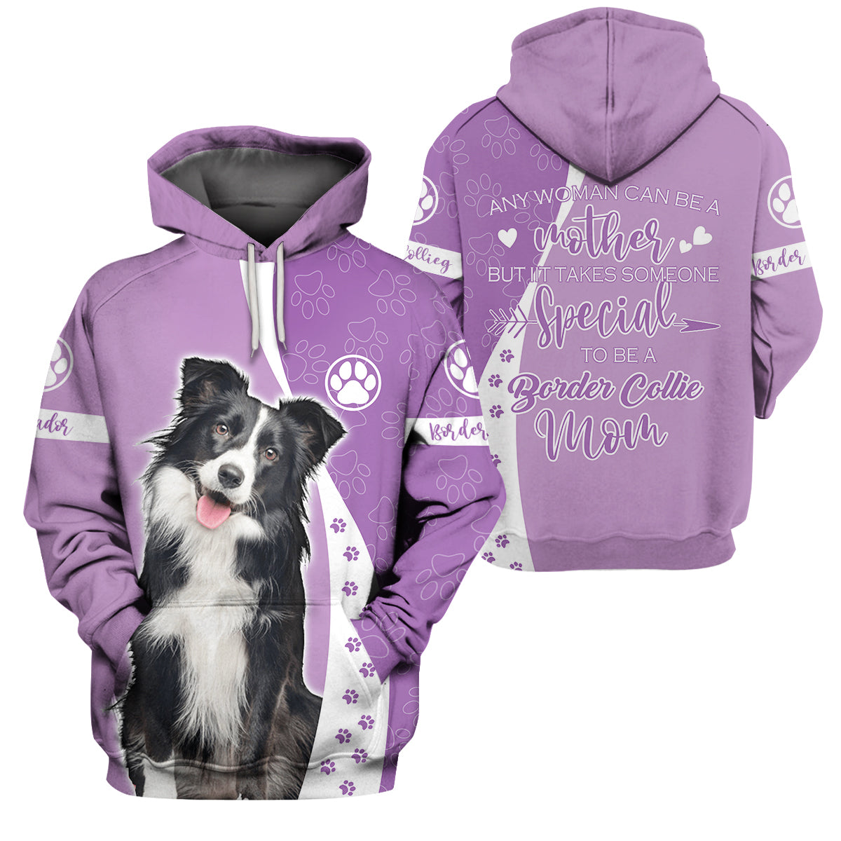 3d Apparel - any woman can be a mother - Border Collie