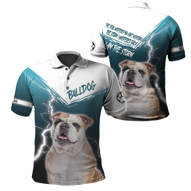 3d Apparel - I am The Storm - Bulldog